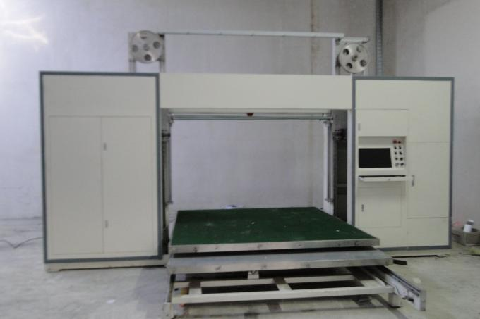 Vacuum Table CNC Foam Cutting Machine With Oscillating Blade Adjustable Speed