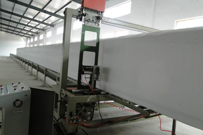 Full Automatic Mattress Manufacturing Machines  , Industrial Foam Machine For Sofa / Shoes