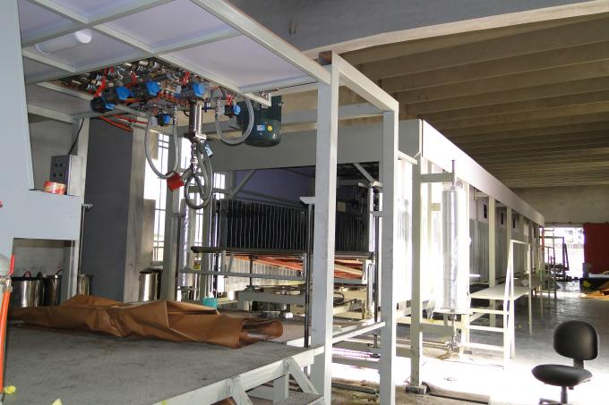 45 Meters Long Continuous Foam Making Machine For Flexible Polyurethane Foam