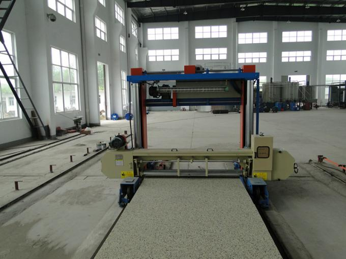 Rail Type Foam Block Foam Sheet Cutting Machine Horizontal PLC Control