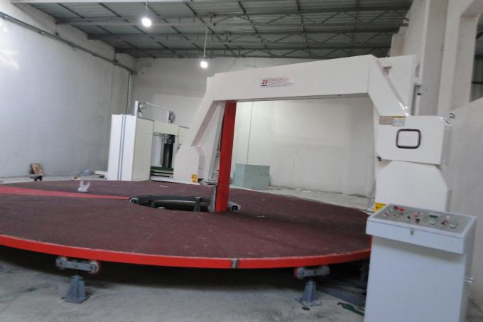 Circle Horizontal CNC Foam Cutting Machine , Foam Board Cutter High Performance