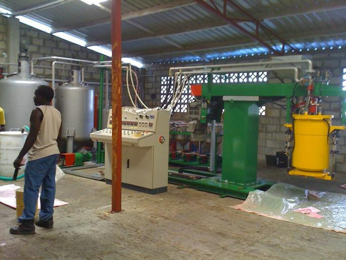 Automatic Waste Foam PE Recycling Machine / Plastic Recycling Machinery