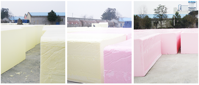 High Speed Memory Polyurethane Foam Machine , Soft Foam Plant Machinery