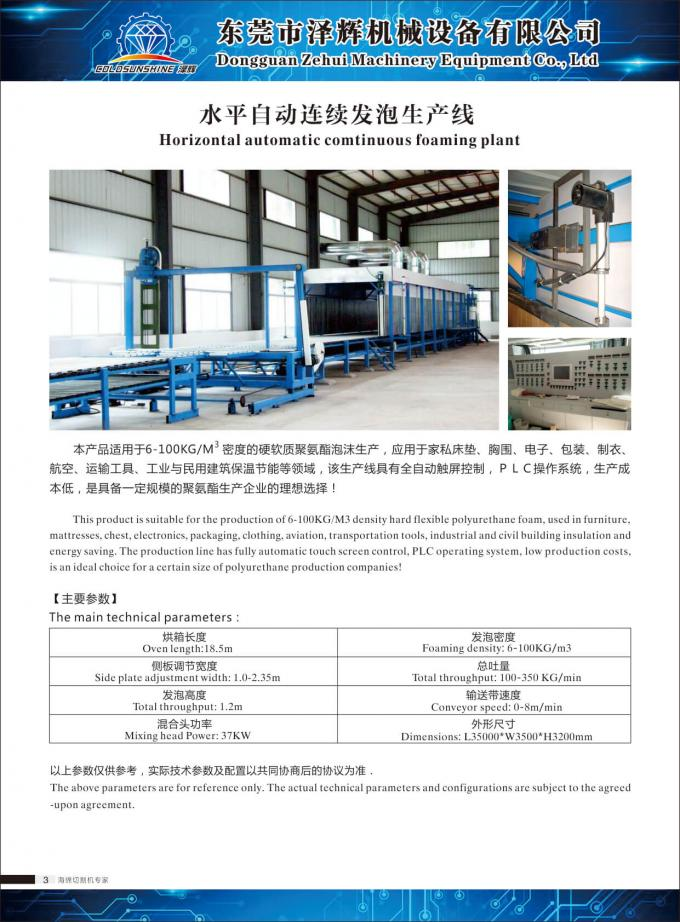 Polystyrene Foam Making Machine / Foam Plate Production Machine 380V 50HZ