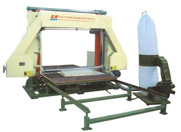 China Fully Automatic Foam Cutting Equipment / Polyurethane Foam Cutter Machine supplier