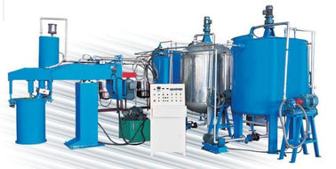 43kw Semi-Automatic Sponge Production Line For Foaming Mattress And Furniture