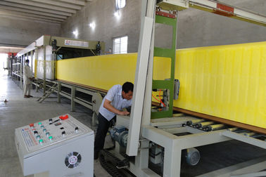 Polyurethane Vertical Foam Block Cutting Machine with Foam density 13kg/m3 to 60kg/m3