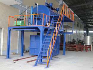 15KW Foam Recycling Machinery / Waste Sponge Recycling Machine with Steam