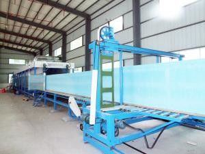 Continuously Sponge Production Line , Automatic Foam Mattress Making Machine