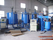 30kw Semi - Auto PU Foam Making Machine For Furniture Beds / Bra Sponge