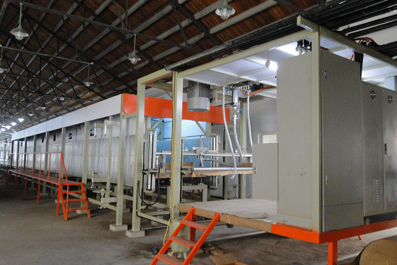 Automatic Polyurethane Sponge Making Machine Line With ABB Brand Inverter