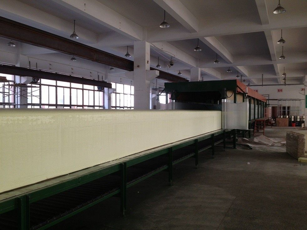 High Rebound Polyurethane Foam Production Line With PLC Digital Touch Screen