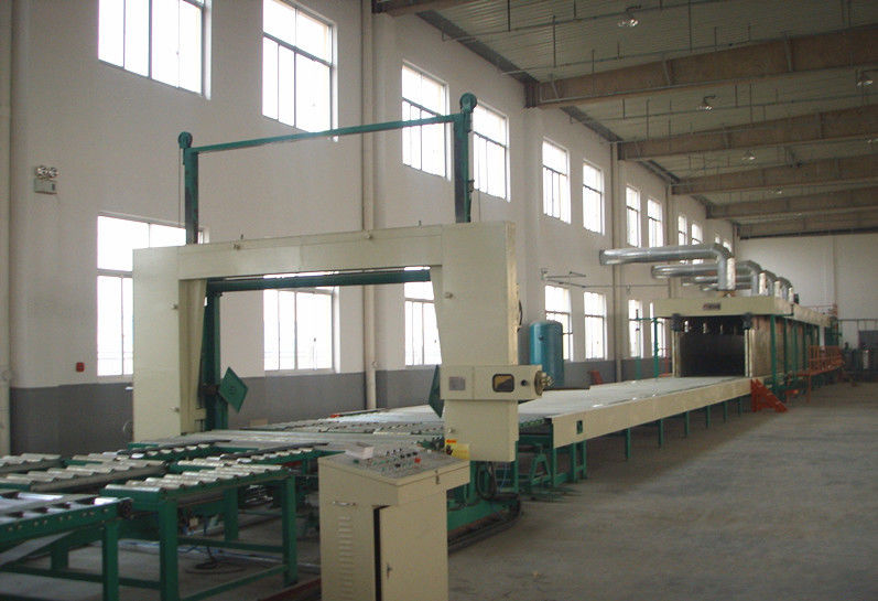 Auto Memory Mattress Manufacturing Machines , Flexible Polyurethane Foam Production With Siemens Inverter