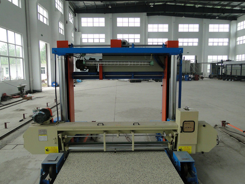 Rigid Foam Sheet Cutting Machine 8.84KW , Industrial Styrofoam Cutter Machine