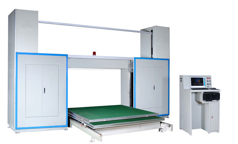 Horizontal CNC Foam Cutting Machine With Oscillating Blade For Special Shape Foam