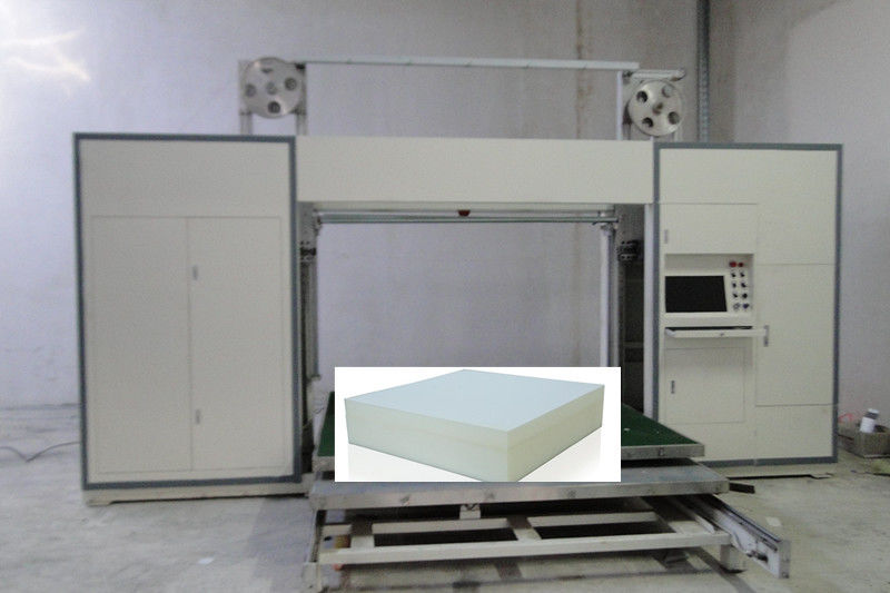 Vacuum Table Type Sponge CNC Router Foam Cutter Machine With Oscillating Blade