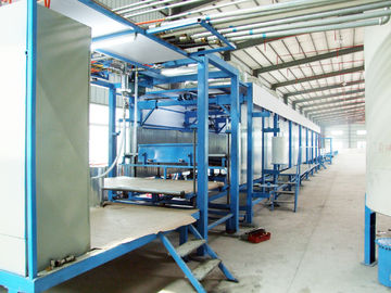 Continuous Sponge Cutting Machine , Foam Production Line For Furniture / Pillow