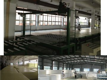 Automatic Continuous Low Pressure Foam Machine For Polyurethane Sponge 18Kg / m³