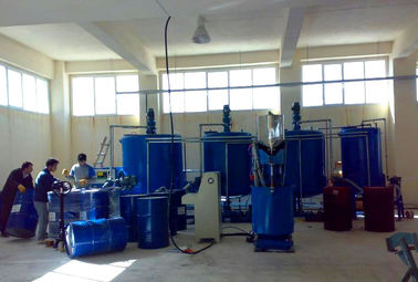 China Semi - Auto Low Pressure Polyurethane Foaming Machine For Foaming Mattress and Sofa factory