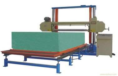 Horizontal Automatic Polyurethane / PU Foam Cutting Machine For Sponge Sheet