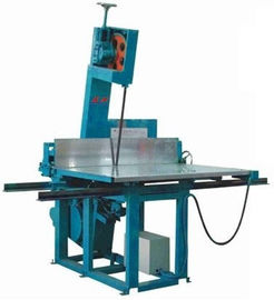China PU / Polyurethane Vertical Foam Cutting Machine , High Density Foam Cutter Equipment factory