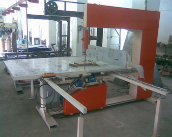 Manual Semi - Automatic EPE Vertical Foam Cutting Machine For Pillow / Foam Sheet