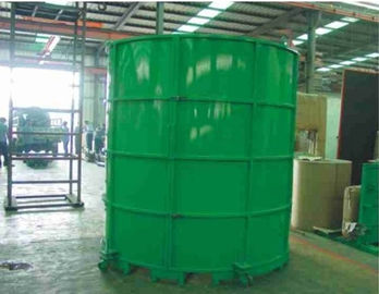 China Manual Circular Sponge Foaming Block Moulding with Steel Foaming Structure factory