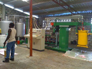 High Speed Automatic Recycled Foam Production Line With Steam for High Density Sponge