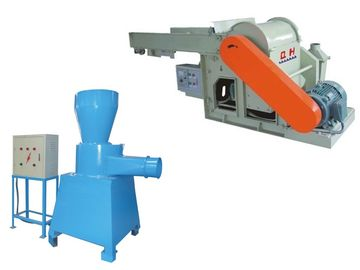 High Productivity Sponge Foam Crushing Machine , Foam Shredding Machine For Foam Blocks