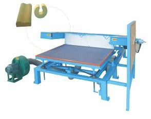 3.8 Kw Polyurethane Foam Crushing Cutting Machine For Special Shaped Slicing Foam