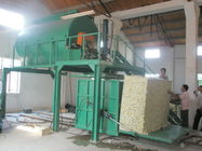 Automatic Recycled Foam Production Line With Steam Mix Crushed Foam With Glue